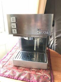Gaggia Cubika Espresso maker for sale - excellent condition