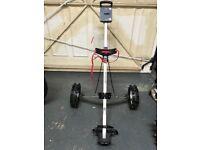 Dunlop 2 wheel golf trolley