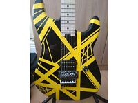 EVH striped series black and yellow
