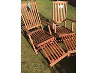 Hardwood Garden Chairs New