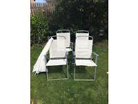 Garden Chairs & Parasol NEW