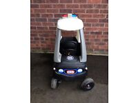 Little Tikes cosy Coupe Police Car