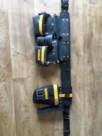 Dewalt tool belt and drill holster