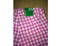 Girl's Benetton trousers, xtra small