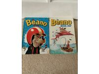 Beano annuals 1968 & 1969
