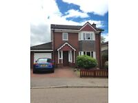 3 Bedroom Detached House, Redburn Avenue, Culloden. Large private garden to rear, integral garage