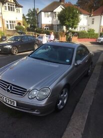 Silver Mercedes CLK 320 for sale