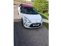 White DS3 Pink Roof 1.6 Petrol Turbo
