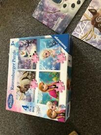 Frozen jigsaw