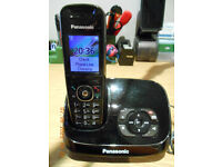Panasonic KX-TG8521 KX-TG8522 TG8523 TG8524 Cordless DECT Digital Answer Phone Telephone Landline
