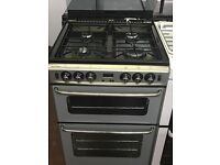 60CM STOVES SILVER GAS COOKER