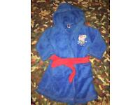 George the pig dressing gown 18-24 months