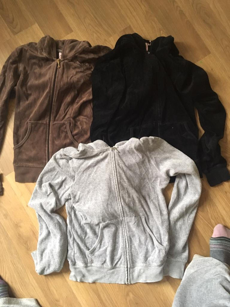 Genuine Juicy couture tracksuit tops £5 each or all 3 for £10