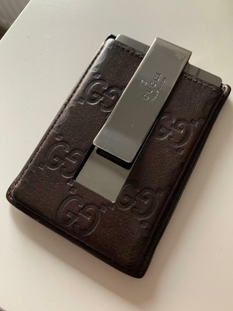 429c7101c9 Gucci vintage money clip/ card holder | in Battersea, London | Gumtree
