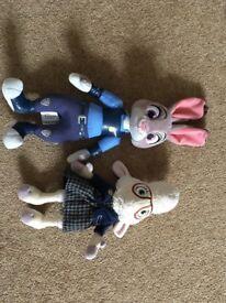 Zootropolis Soft Toys
