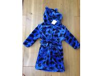 Boys 12-18 months Brand New Dressing Gown