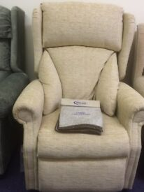EX DISPLAY WILCARE RISE AND RECLINER CHAIR