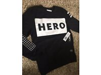 Genuine Hero's Heroine Black Sweatshirt