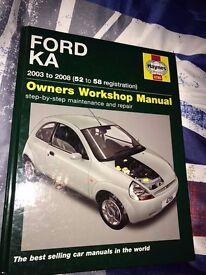 haynes manuals/car books - retro/collectable/vintage