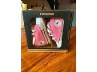 Converse baby size3 pink pram shoes