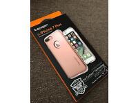 iPhone 7 plus rose gold spigen case *brand new*!!