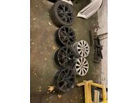 """4x 18"""" Vauxhall Corsa D Vxr Alloy Wheels"""