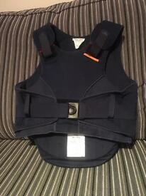 Navy airowear equestrian body protector child's small