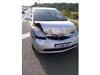 PCO CAR TOYOTA PRIUS 2008 ACCIDENT DAMAGED