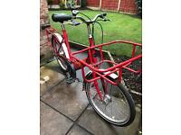 retro pashley postmans delivery bicycle