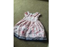 Early days pink dress 3-6months