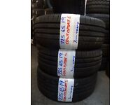 SET MATCHING 225 45 19 CONTISs 7mm TREAD £90 PAIR £160 set of 4 SUPP & FITTED open hol friday 5pm