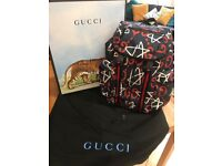 Genuine Gucci Backpack (Gucci Ghost Collection)
