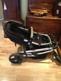 Mothrcare buggy / pram with baby car seat