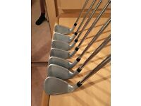 Cobra fly z irons 4-pw as new condition