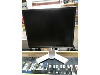 DELL COMPUTER MONITOR 19`` WITH 5 USB PORTS AND CABLES