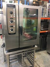Henny Penny Combimaster/same as Rational 10 Grid Electric with Stand