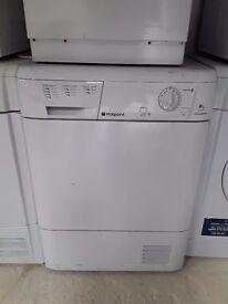 hotpoint 8kg condenser dryer
