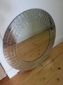 Ikea Tranby Round Mosaic Mirror - £10
