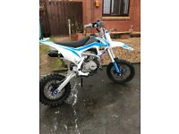 Motocross bike 140cc brand new
