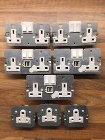 Wandsworth 13A USB Sockets & 5A Sockets