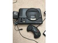 Sega Megadrive and 5 games