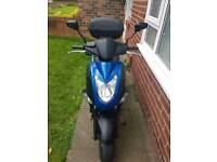 Kymco agility 125 swap for 7 seater