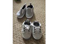 New 0-3 months boys pram shoes
