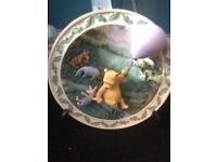 """A fine day for a balloon ride"" collectable plate"