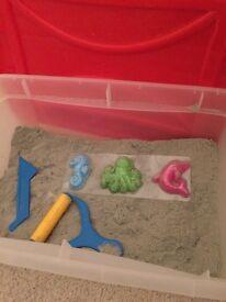 Box of Cra Z Sand