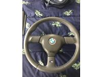 BMW e30 tec 2 steering wheel