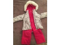 WEATHERPROOF 2 PC Snow set ( Insulated jacket with Coordinating insulated Bib)