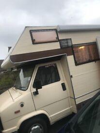 Motorhome campervan Talbot