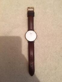 Daniel Wellington Leather Strap Watch