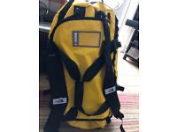 North face original base camp medium yellow duffel bag